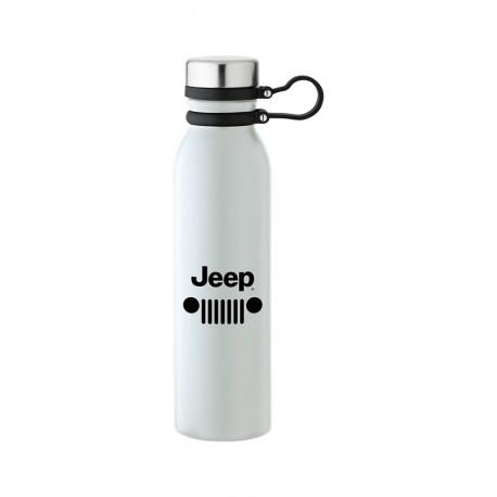 Jeep termo láhev - bílá