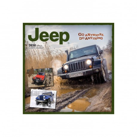 Jeep kalendář 2020