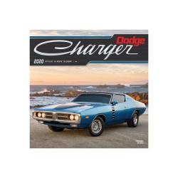 Dodge Charger 2020 kalendář