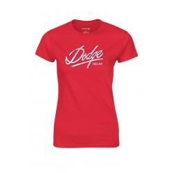 Dodge dámské červené triko