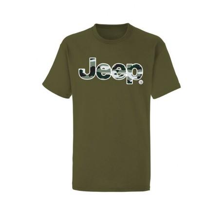 Jeep pánské army triko