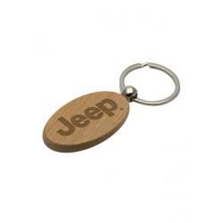 Jeep dřevěný přívěsek na klíče