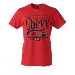 Chevrolet pánské červené triko