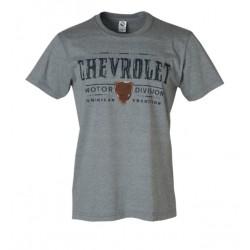 Chevrolet pánské šedé triko